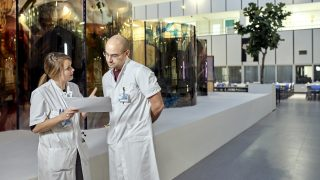 Overleg arts en onderzoeker MUMC+